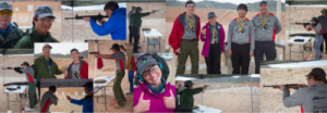 Baden Powell pistol team